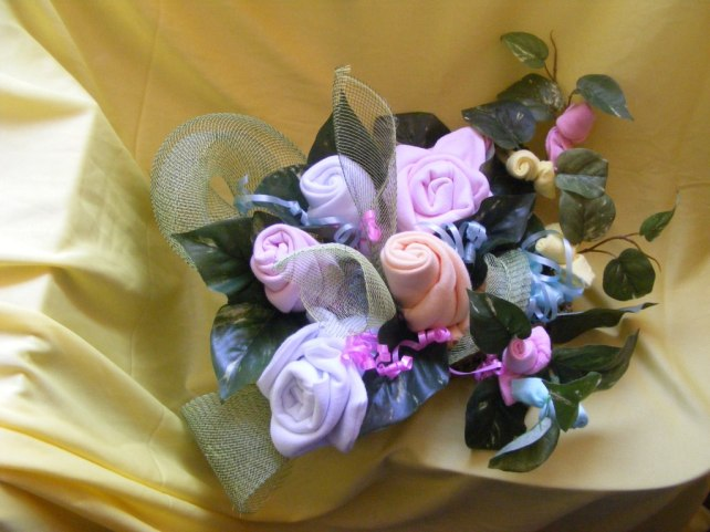 סלסלת פרחים קסומה